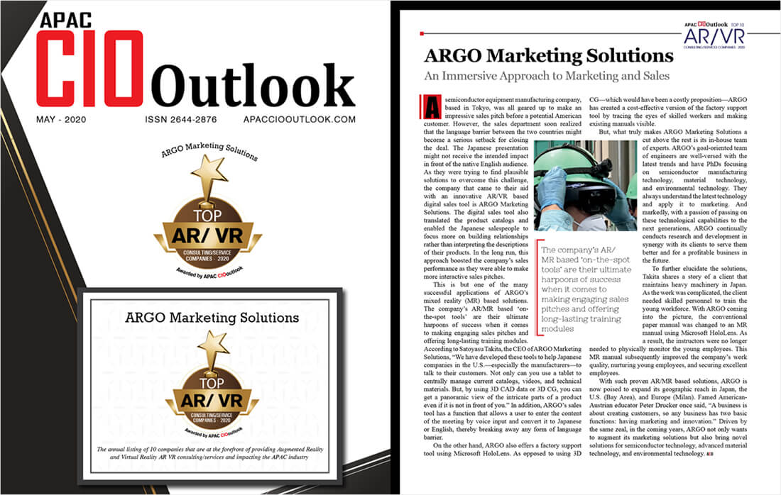 APEC CIO Outlook Magazine